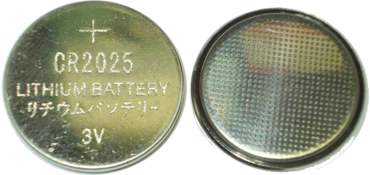 Элемент пит. литиевый CR2025 LITHIUM BATTERY 3 v