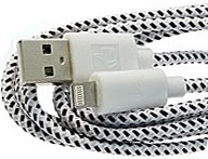 805 Кабель USB-to iPhone5 round braid 1m
