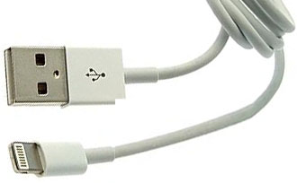 805 Кабель USB to iPhone 5 Round 1m, IPAD