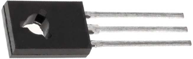 Транзистор КТ8130А PNP, 40v, 4A, 20W, 25mhz, 500-1500, TO126,