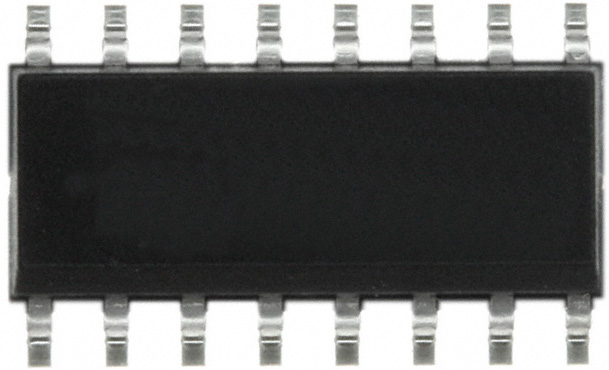 Микросхема MC14046B (on semiconductor, smd-16).
