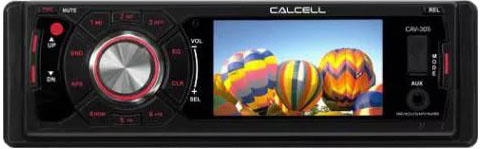 Авто DVD/CD/MP3 CALCELL CAV-305 АКЦИЯ!