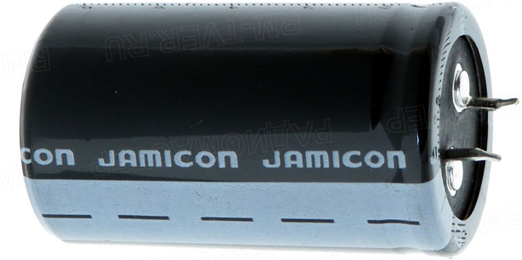 Конденсатор+47000мкф* 25v 105° Jamicon 35x50мм