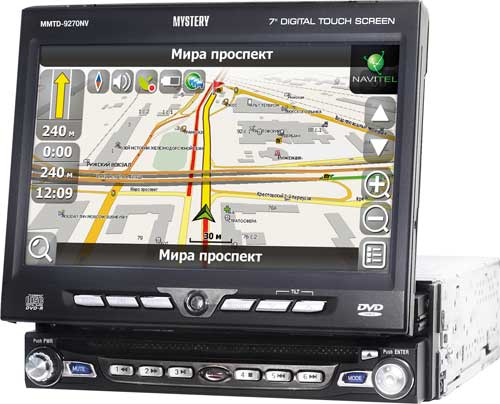 Авто DVD/CD/MP3 MYSTERY MMTD-9270NV с навигатором