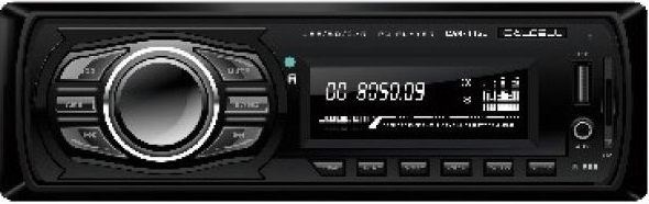 Авто MP3 CALCELL CAR-445U бездисковая 4x35W, AUX, USB