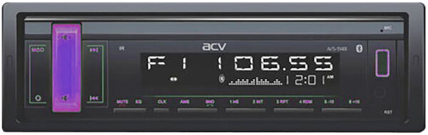 Авто MP3 ACV AVS-914BM BLUETOOTH / USB/SD, 4*50W, AUX Мультиколор